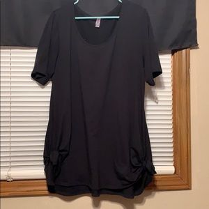 Solid Black LuLaRoe Perfect T